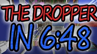 Download Minecraft: The Dropper in 6:48 (All 17 Levels) Video