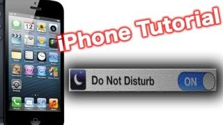 Download How To Use The iPhone Do Not Disturb Feature (DND Setting) Video