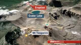 Download First eruption in 100 years New Zealands Mount Tongariro Volcano awakens/Erupts without Warning Video
