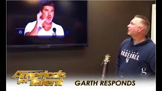Download Garth Brooks RESPONDS To Simon Cowell's Call Out Over Michael Ketterer | America's Got Talent 2018 Video