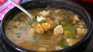 Download Korean soybean paste stew (Doenjang-jjigae: 된장찌개) Video