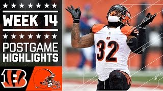 Download Bengals vs. Browns | NFL Week 14 Game Highlights Video