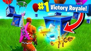 Download Using *ONLY* SUPPLY DROPS To WIN Fortnite Battle Royale! Video
