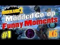 Download Borderlands 2 | Modded Co-op w/ Shadowevil & K6 | Funny Moments #1 Video