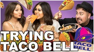 Download TRYING TACO BELL FOR THE FIRST TIME | Roxette Arisa Video