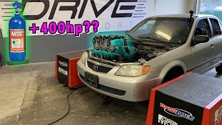 Download QUAD TURBOS on the DYNO Video
