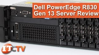 Download Dell PowerEdge R830 Gen13 Technical Review Video