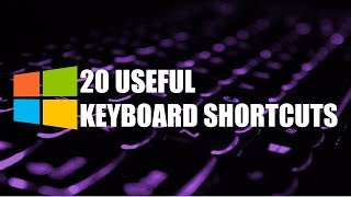 Download 20 Useful Keyboard Shortcuts You Need to Know! (Windows) Video