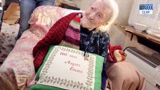 Download Emma Morano, piemontese, è la donna più longeva del mondo: 116 anni Video