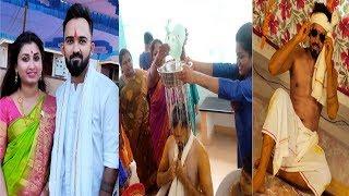 Download Yashwanth Master Mehandi Function Photos || Choreographer Yash Marriage || Creative Gallery Video