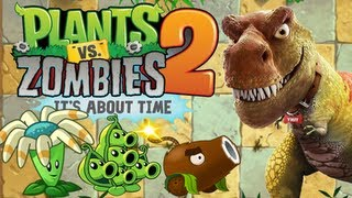 Download Plants vs. Zombies 2 - Jurassic Plant! Video