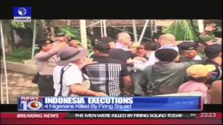 Download News@10:4 Nigerians Killed By Firing Squad In Indonesia Pt.2 280415 Video