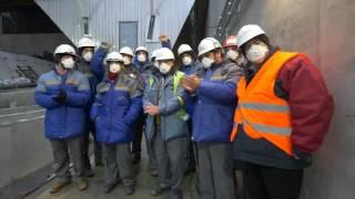Download En Ukraine, l'arche de Tchernobyl est en position Video