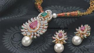 Download Latest Gold Pendant Sets Necklace Designs Video