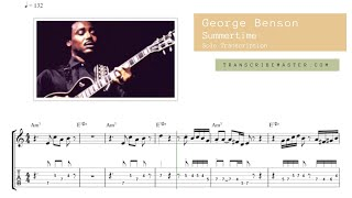 Download Summertime - George Benson ( solo Transcription ) Video