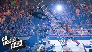 Download Scariest Superstar falls: WWE Top 10, Oct. 16, 2017 Video