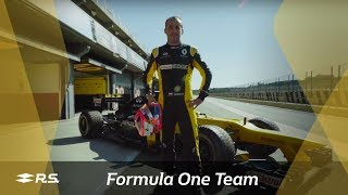 Download Renault Sport Formula One Team: Robert Kubica Test in Valencia Video