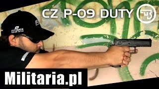 Download Pistolet wiatrówka CZ P-09 DUTY - Militaria.pl Video