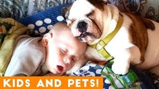 Download The Cutest Kids and Animals Compilation 2018 Pt. 1 | Funny Pet Videos Video