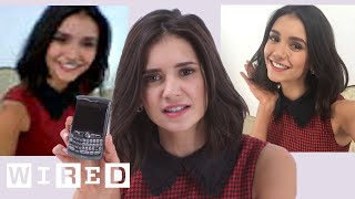 Download Nina Dobrev Takes Selfies With Phones From 2003 to 2014 | WIRED Video