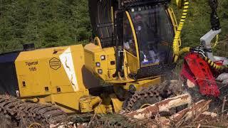 Download 1185 Harvester in Scotland Video