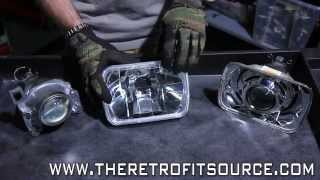 Download TRS Tips: 7x6 Sealed Beam Bi-xenon Headlight Projector Retrofit Upgrade How-To Video