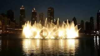 Download النافورة الراقصة - دبي مول , أغنية ميحد حمد - سما دبي Video