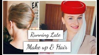 Download Flight Attendant ″Running Late″ Make up/Hair Video