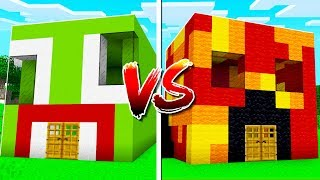 Download UNSPEAKABLE HOUSE vs PRESTON HOUSE IN MINECRAFT! Video