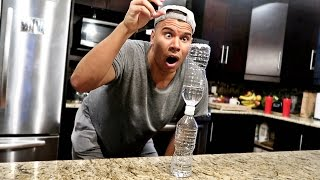 Download IMPOSSIBLE WATER BOTTLE FLIP TRICK SHOTS!! Video