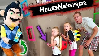 Download Hello Neighbor in Real Life Toy Scavenger Hunt!! Lost Kitties, LOL Dolls, Polly Pocket,.... Video