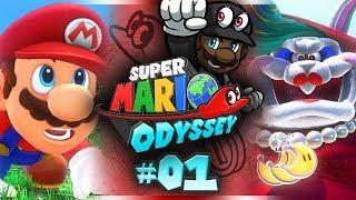 Download Super Mario Odyssey w/ @PKSparkxx! (+ GIVEAWAY!) - #01 | ″CHAIN CHOMP ABUSE!?″ (Gameplay) Video