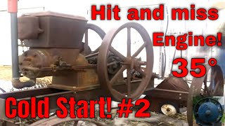 Download Cold Start! 6Hp Sandow Hit and Miss Engine #2 Video