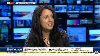 Download Supreme Court hearing on prorogation - Bronwen Maddox, Sky News Video