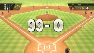 Download (TAS) Wii Sports Baseball: 99-0 :Max Score Possible【Full Game】 Video