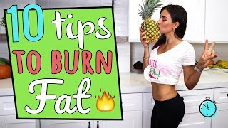 Download 10 TIPS TO LOSE BELLY FAT Video