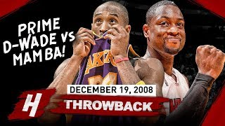 Download The Game That Kobe Bryant Faced PRIME Dwyane Wade! EPIC Duel Highlights 2008.12.19 - MUST SEE Video
