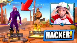 Download I found a HACKER with *UNRELEASED* Fortnite skins... Video