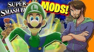 Download Super Smash Bros. MODS & GLITCHES! - SpaceHamster Video