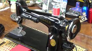 Download CRAZY!! William Diaz's Singer 201-2 now sews Saddle Grade Leather like a light cotton!! Video