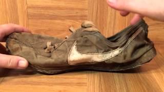 Download ShoeZeum Bill Bowerman Handmade Sample Prototype Nike Waffle Up Close Video