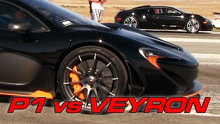 Download Bugatti Veyron vs McLaren P1 Video