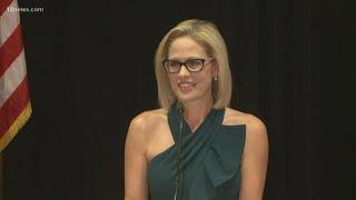 Download WATCH: Democrat Kyrsten Sinema gives her victory speech Video