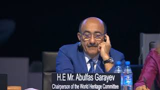 Download 43rd World Heritage Committee 8 July 2019 AM Video