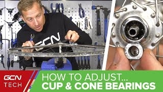 Download How To Adjust Cup & Cone Wheel Bearings On Your Bike - Maintenance Monday Video