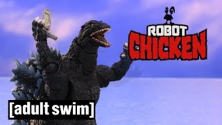 Download The Best of Godzilla | Robot Chicken | Adult Swim Video