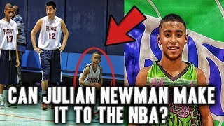 Download Can Julian Newman Make It To The NBA?   Played Varsity Since 5th Grade Video