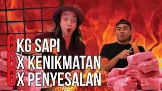 Download GILAA!!!! 6 Kg DAGING SAPI ABIS!!!! HANAMASA RUGI | Ayo Makan | GERRY GIRIANZA ft. TANBOYKUN Video