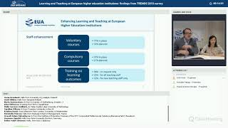 Download EUA webinar: Learning and Teaching at European higher education: findings from TRENDS 2018 Video