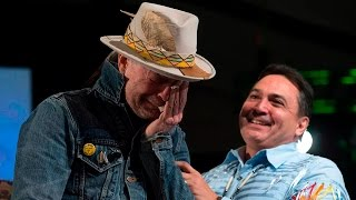 Download Emotional Gord Downie honoured by AFN Video